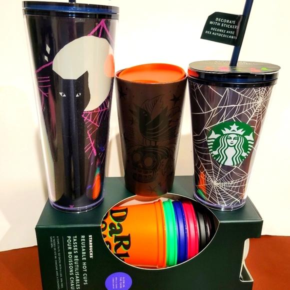 !SOLD! Starbucks LMTD HTF Tumbler 4pc set